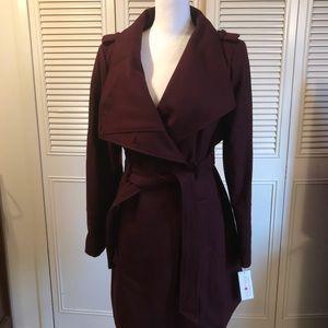 GUESS NWT wool blend coat